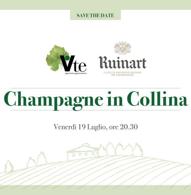 champagne in collina evento ristorante vite san patrignano 19 luglio 2019